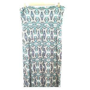 Long CYNTHIA ROWLEY skirt, size  XL